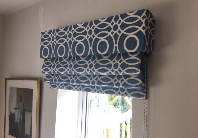 Patterned roller blinds